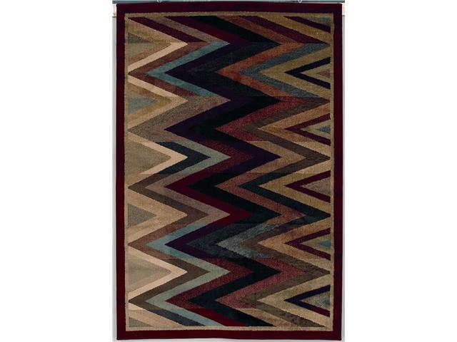 Shaw Living Accents New Mexico Area Rug Multi 5' 3