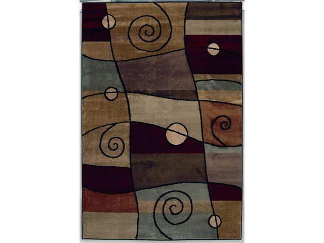 "Shaw Living Accents Percussion Area Rug Ebony 7' 9"" x 10' 10"" 3X81120500"