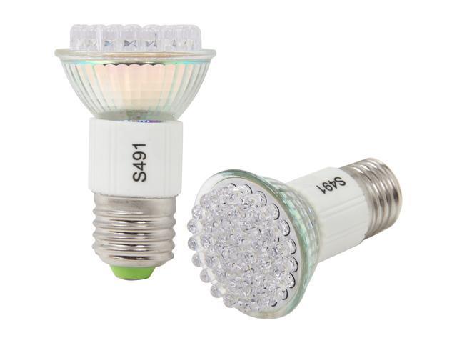 MiracleLED 605023-2 50 Watt Equivalent 2 Pack Bug Light Ultra Saver 2 Watt LED Light Bulb