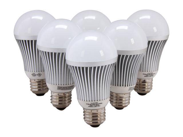 Collection LED CL-BLA-5W-W-6PK 30 Watt Equivalent LED Bulb 6 Pack