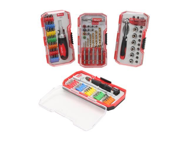 i-Work 88-392-220 4 Red Box Bundle Pack