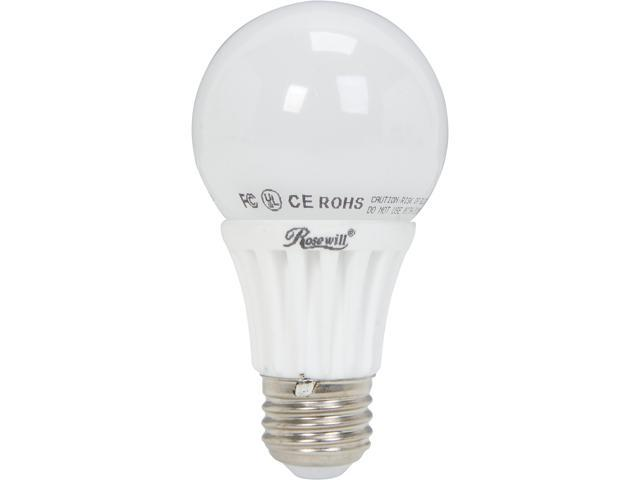 ROSEWILL RL-W73001, A19 Non-Dimmable LED Light Bulb, E26 Base, 6.5 W, 50 W Replace, 560 Lumens, UL CE RoHS, 3000K, Warm White, Wide Beam Angle 230 Degree