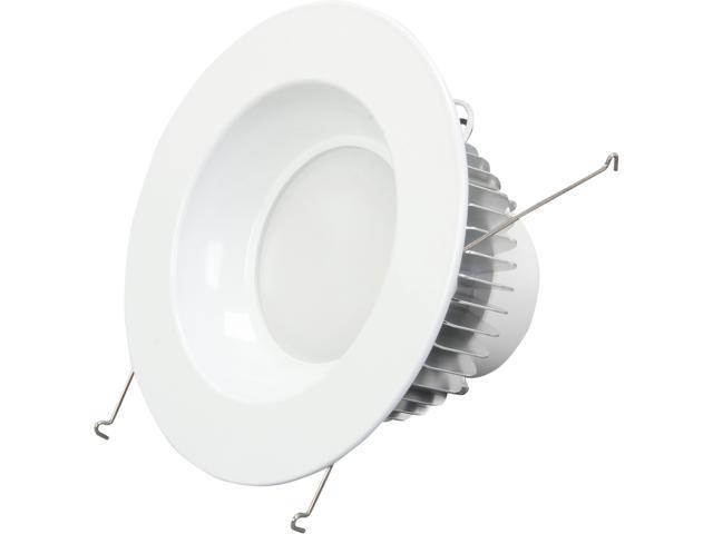 Rosewill E26F15W D106-6 - White LED Recessed Light - Trim - RTRL-14001