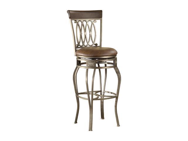 "Hillsdale Furniture Montello Old Steel Swivel 28"" Counter Stool"