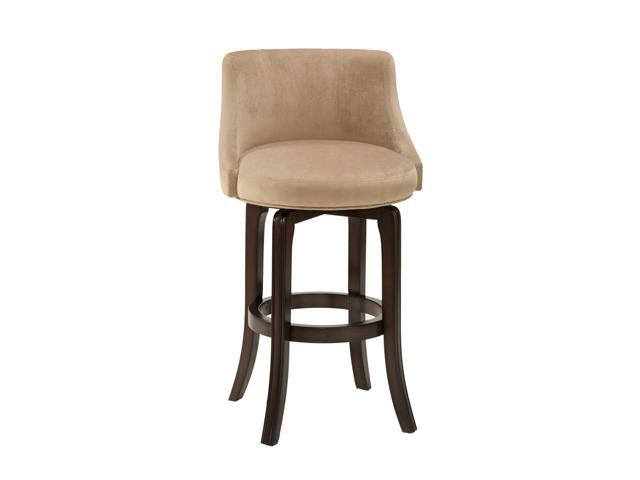 Hillsdale Furniture Napa Valley Swivel Counter Stool Khaki Fabric