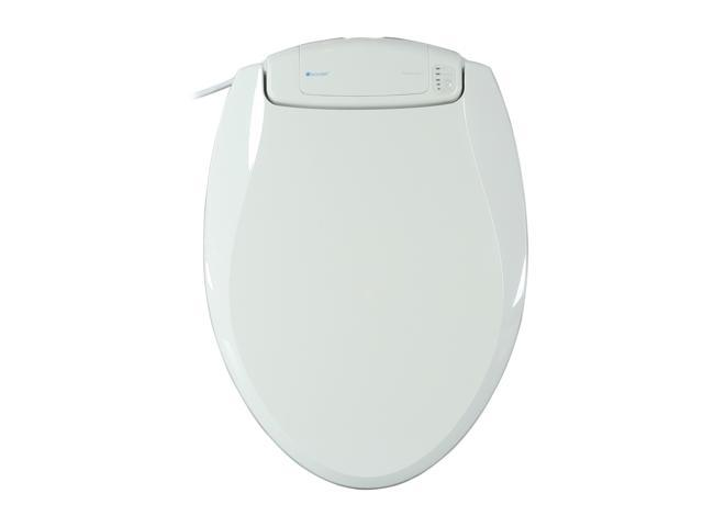 Brondell BR60-EW BreezaWarm Heated Toilet Seat-Elongated, White