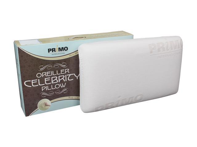 Primo International Celebrity Queen Size Memory Foam Pillow
