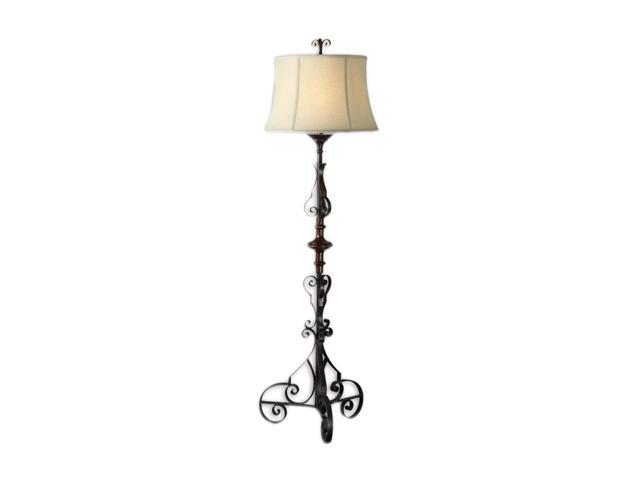 Uttermost Matthew Williams Celino floor lamp Bronze