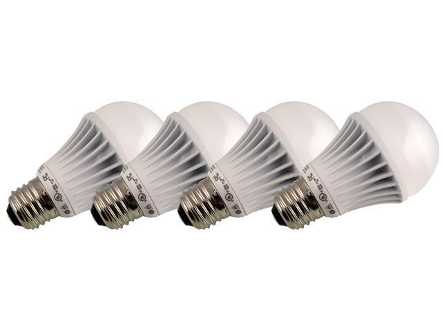 TESS T-66001S4 30 Watt Equivalent 6W LED Light Bulb, 4 Pack