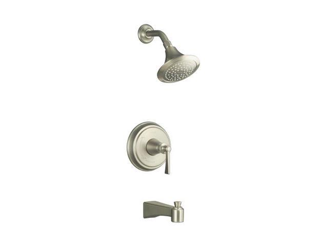 KOHLER K-T11077-4-BN Archer Bath And Shower Trim Set with Lever Handle, Valve Not Included