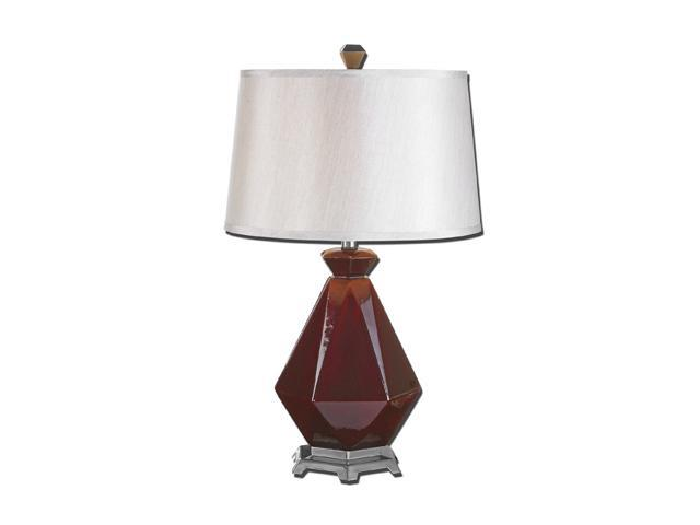 Uttermost Matthew Williams Parete Table Lamp Shaped Ceramic Base