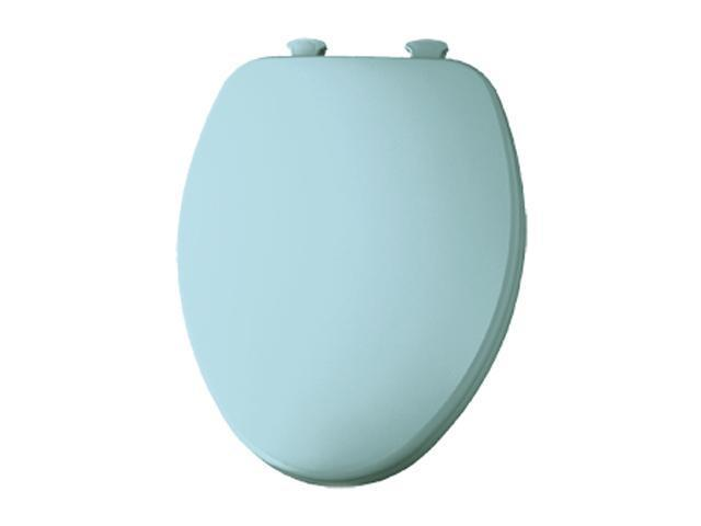 Bemis 585EC 464 Elongated Closed Front Toilet Seat w/EZ Clean Hinges, Dresden Blue