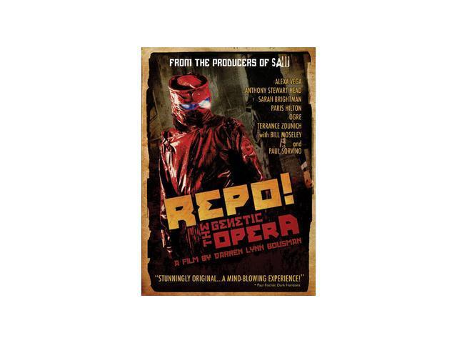 Repo! The Genetic Opera Alexa Vega, Paris Hilton, Paul Sorvino, Anthony Head, Bill Moseley, Nivek Ogre, Sarah Power