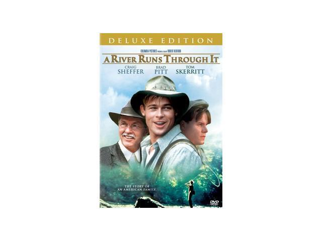 A River Runs Through It Craig Sheffer, Brad Pitt, Tom Skerritt, Brenda Blethyn, Emily Lloyd, Edie McClurg, Stephen Shellen, Nicole Burdette, Susan Traylor, Joseph Gordon-Levitt