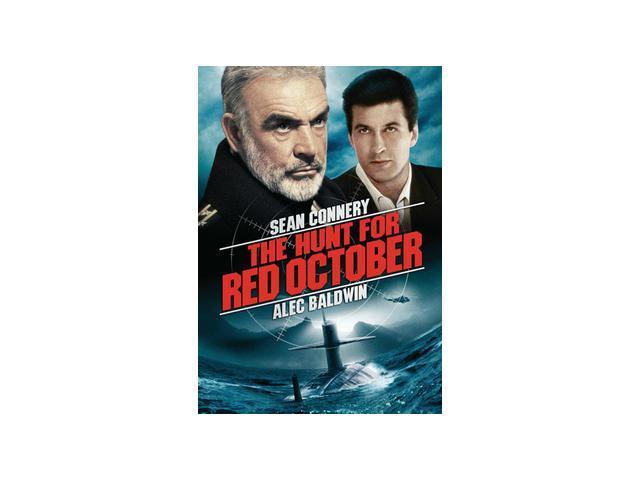 The Hunt For Red October Sean Connery, Alec Baldwin, Scott Glenn, Sam Neill, James Earl Jones, Joss Ackland, Richard Jordan, Peter Firth, Tim Curry, Courtney B. Vance