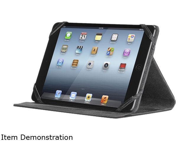 "Targus Kickstand THZ212US Carrying Case (Folio) for 7"" iPad mini - Black - Scratch Resistant Interior, Bump Resistant Interior"