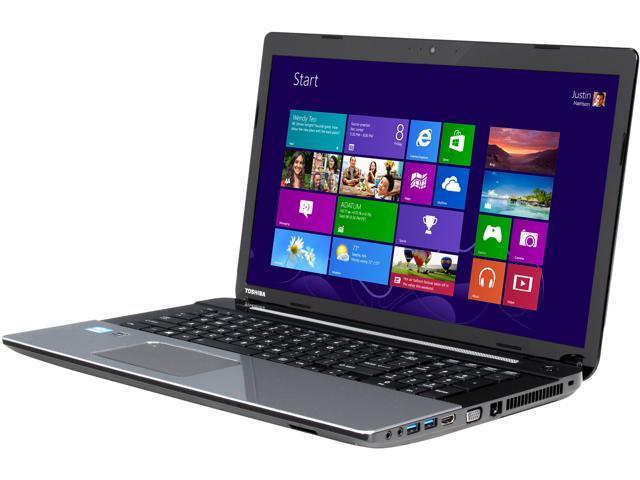 TOSHIBA Laptop Satellite L75-A7350 Intel Core i3 3120M (2.50 GHz) 6 GB Memory 750 GB HDD Intel HD Graphics 4000 17.3