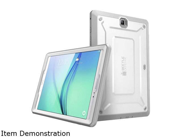 Galaxy Tab A 9.7 Case, SUPCASE Unicorn Beetle PRO Series Full-body Hybrid Protective Case with Screen Protector for Samsung Galaxy Tab A 9.7 [SM-T550] (White/Gray)
