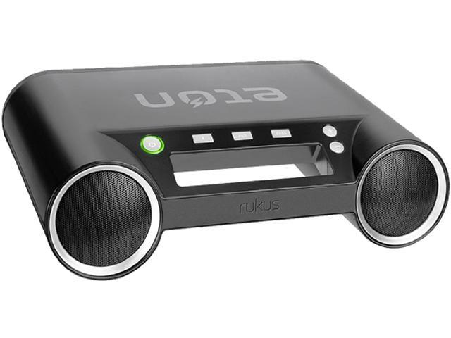 Eton Rukus Portable Bluetooth Wireless Speaker System (Black) - (NRK100B)