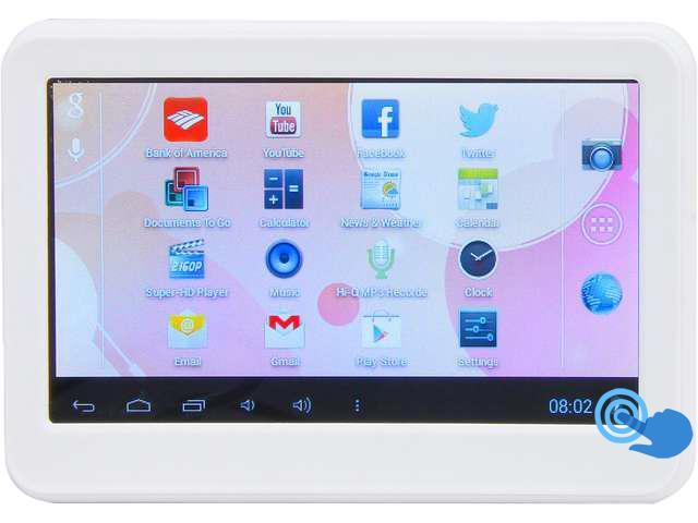 iView CyberPad 420TPC Android Tablet - 1.2GHz 512MB DDR3 4GB flash memory 4.3