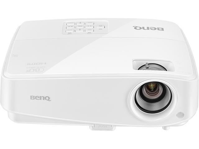 BenQ MW529E WXGA Projector, 1280x800, 3300 ANSI Lumens, Dual HDMI, 1.2 Zoom, Built-in Speaker, 3D Ready, DLP