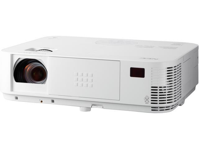 NEC NP-M323W 3200-Lumen WXGA Projector with Dual HDMI Inputs and 1.7X optical zoom