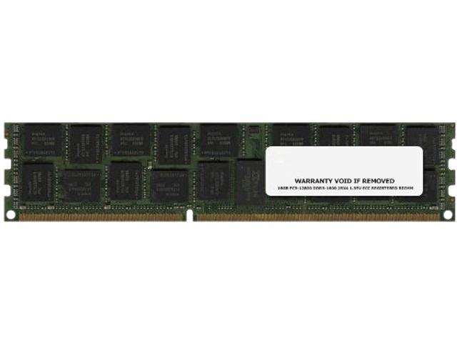 Ibm 16gb (1x16gb, 2rx4, 1.35v) Pc3l-12800 Cl11 Ecc Ddr3