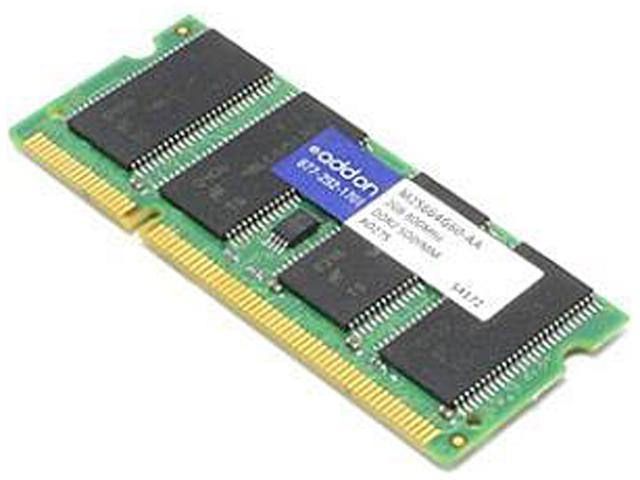 AddOn - Memory Upgrades 2GB 200-Pin DDR2 SO-DIMM DDR2 800 (PC2 6400) Unbuffered System Specific Memory Model M25664G60-AAK