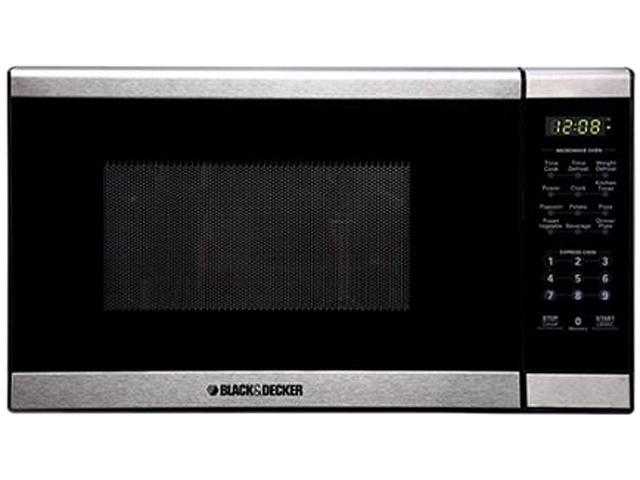 Black & Decker Counter Top Microwave Oven 0.7 cu. ft. 700 Watts Stainless Steel EM720CPT