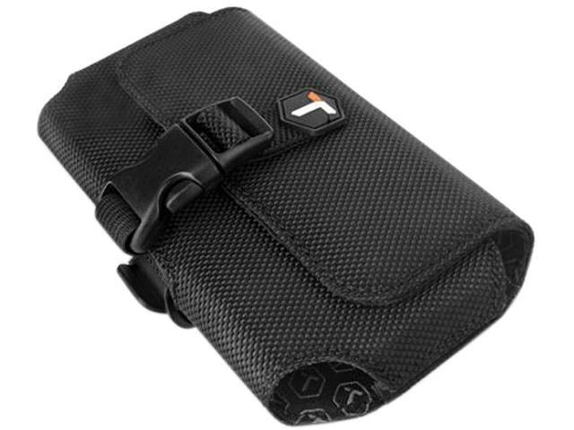 Tough Tested 2XL Phone Case / Pouch with Rotating Belt Clip, Black, TT-2XL-BK