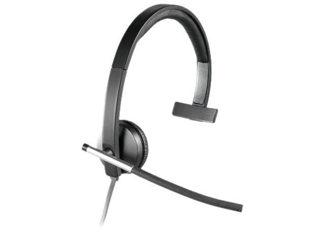 Logitech H650e USB Connector Single Ear Headset
