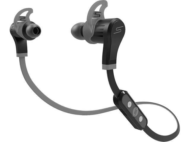 SMS Audio In-Ear Wireless Sport Sweat & Water Resistant Headphone in Black