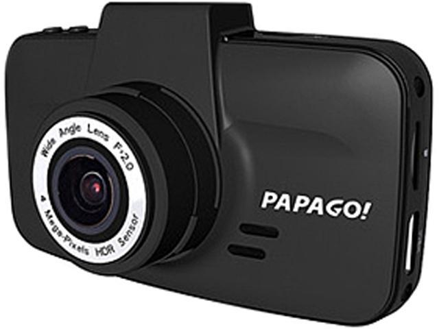 Papago - GS520-US - Papago. GoSafe 520 Digital Camcorder - Full HD - Black