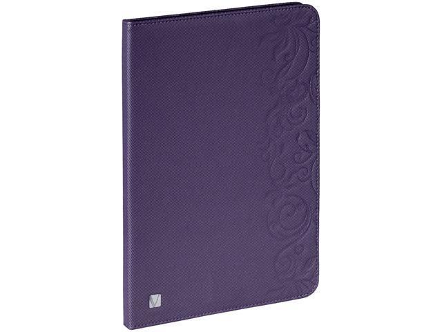 VERBATIM 98527 Folio Expression Case for iPad Air Floral Purple