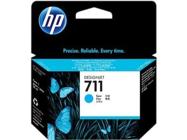 HP 711 (CZ130A) Ink Cartridge; Cyan