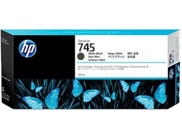 HP 745 Ink Cartridge - Matte Black