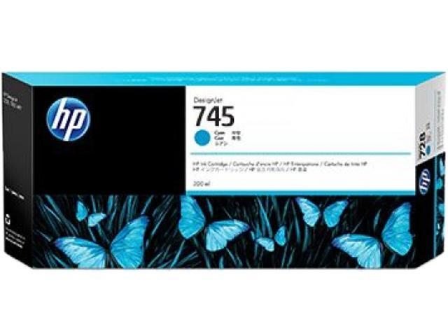 HP 745 Ink Cartridge - Cyan