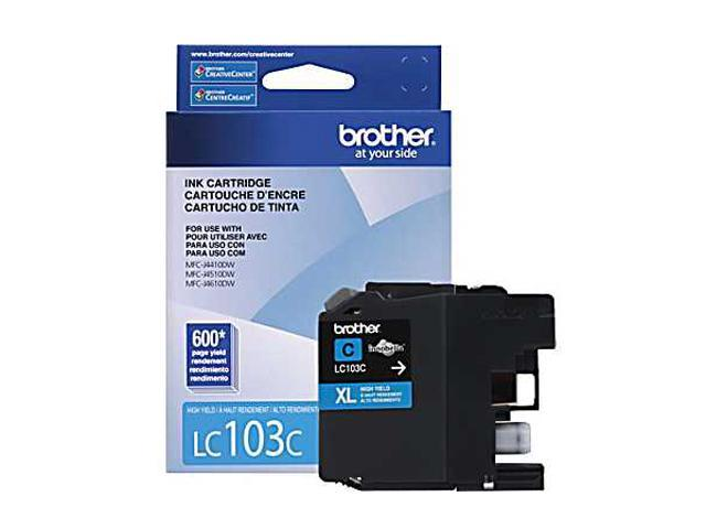 brother Innobella LC103C High Yield (XL Series) Ink Cartridges Cyan