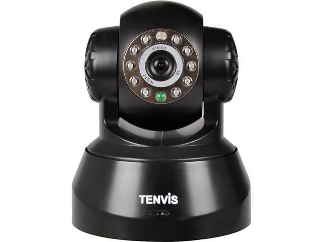 TENVIS JPT3815W-HD P2P HD 720P Pan/Tilt Day/Night w/ IR Cut 2-Way Audio Wireless IP Camera