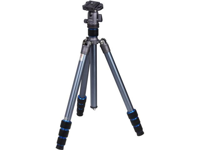 "Dolica Nest LS600AK - 60"" Aero Space Aluminum Grade Professional Tripod with Ball Head and Integrated Monopod"