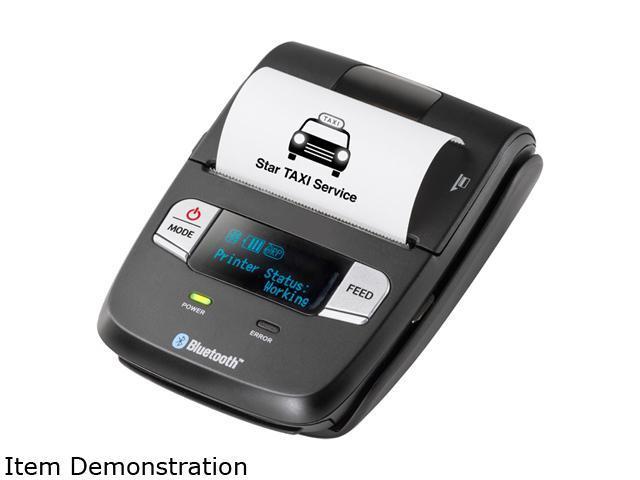 Star Micronics 39633000 SM-L200-UB40 Bluetooth Low Energy Portable Barcode Printer