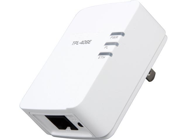 TRENDnet TPL-406E Powerline 500 AV Nano Adapter Up to 500Mbps