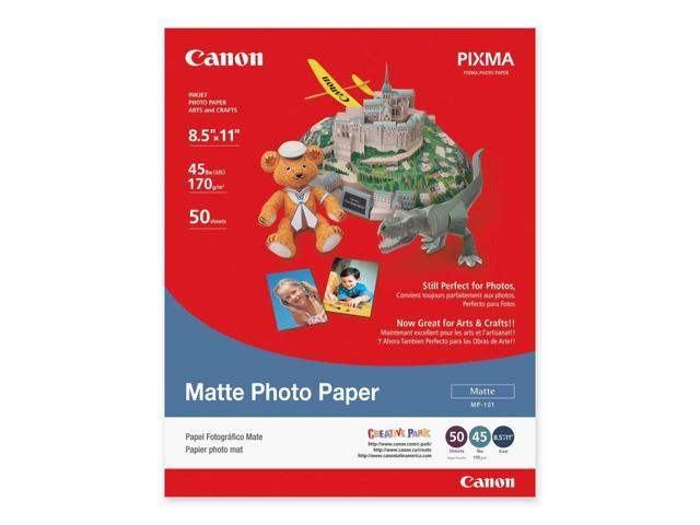 Canon USA 7981A004 Photo Paper Plus, Matte, 8-1/2 x 11, 50 Sheets/Pack