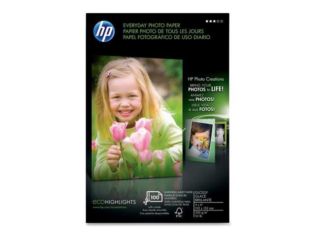 HP Q5440A Everyday Photo Paper, semi-gloss