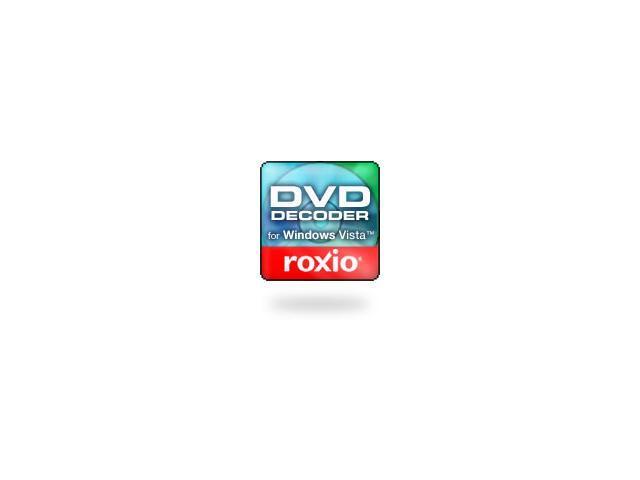 roxio cineplayer dvd decoder for windows vista