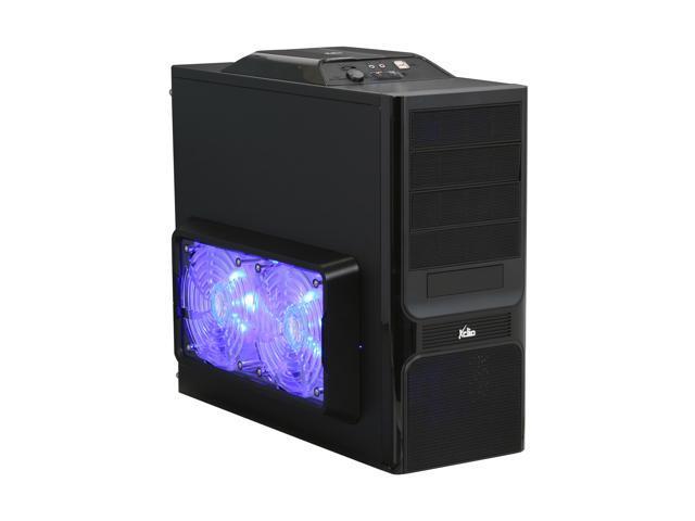 XCLIO Godspeed One Advanced Fully Black Finish Computer Case