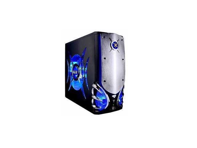 ATOP Gladiator AT878BK-2 Black/Silver Computer Case