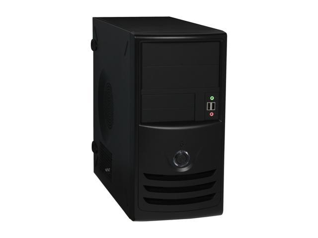 IN WIN IW-Z589T.AQ350BL Black Computer Case