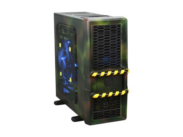 IN WIN Maelstrom Military Black Computer Case