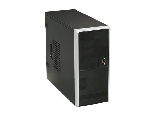IN WIN EA013.T350SL Black ATX Mid Tower Computer Case